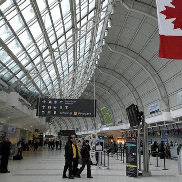 Toronto Pearson Airport cutting 500 jobs due to reduced travel demand amid COVID-19 pandemic