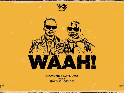 WINNING 'WAAH': Diamond Platmnuz And Koffi Olomide's new song racks up 1 million views in 24 hours