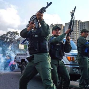Venezuela erupts after opposition leader calls for uprising to topple President Nicolás Maduro.