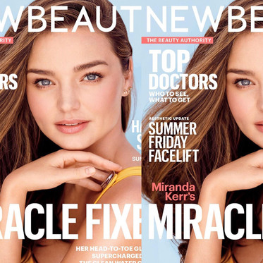 MIRANDA KERR FOR NEW BEAUTY BY NINO MUNOZ