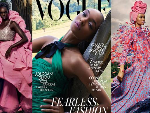 Jourdan Dunn, Joan Smalls, Winnie Harlow & More By Nick Knight For British Vogue