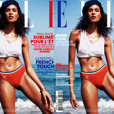 CINDY BRUNA FOR ELLE FRANCE BY JAN WELTERS