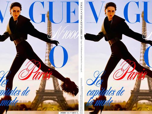 Rianne van Rompaey By Alasdair McLellan For Vogue Paris September 2019