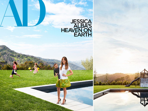 Step Inside Jessica Alba's $10M Los Angeles Home| WATCH
