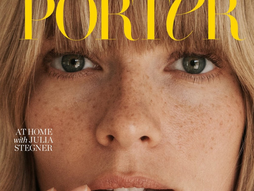 Julia Stegner In Porter Edit May Issue By Benny Horne