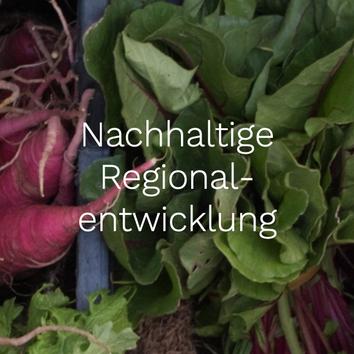 Nachhaltige Regionalentwicklung