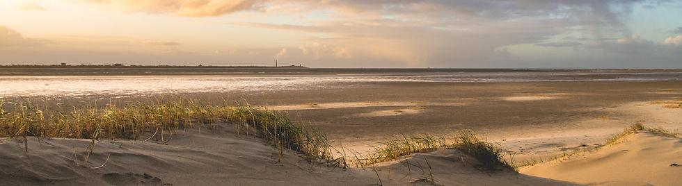 Dünen mit Blick auf das Meer