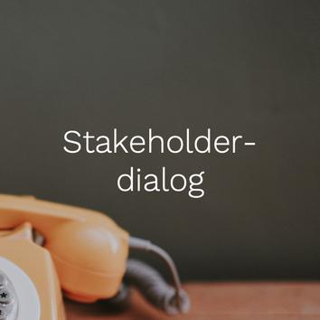 Stakeholderdialog