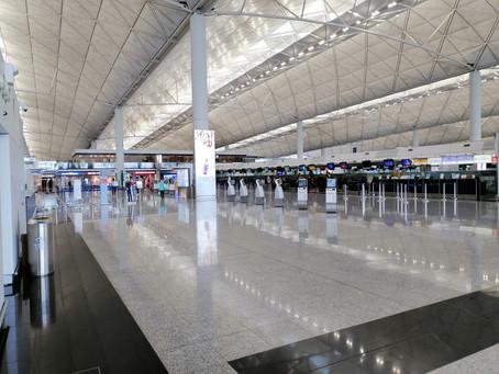 在香港机场没有人!!