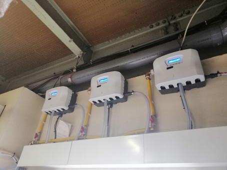 ドイツ洗剤クラウスラーkreussler 自動投入機神戸設置