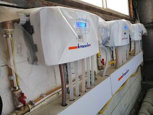 ドイツ洗剤クラウスラーkreussler 自動投入機福岡設置
