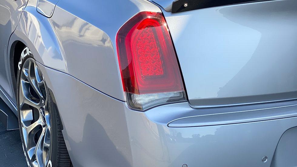 300C srt8 rear bumper spats