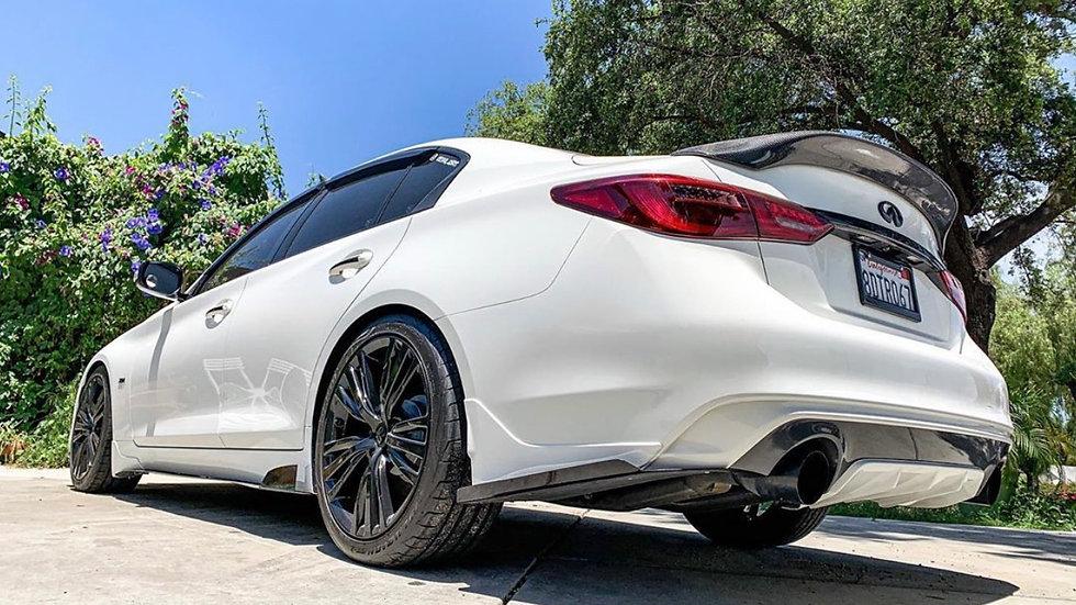 Q50 rear spats