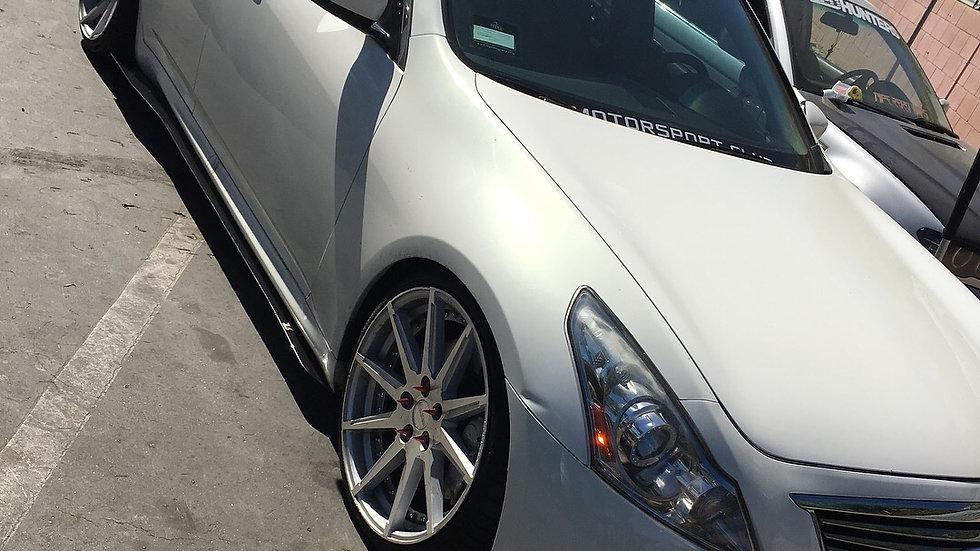 G37/G35 sedan side blades