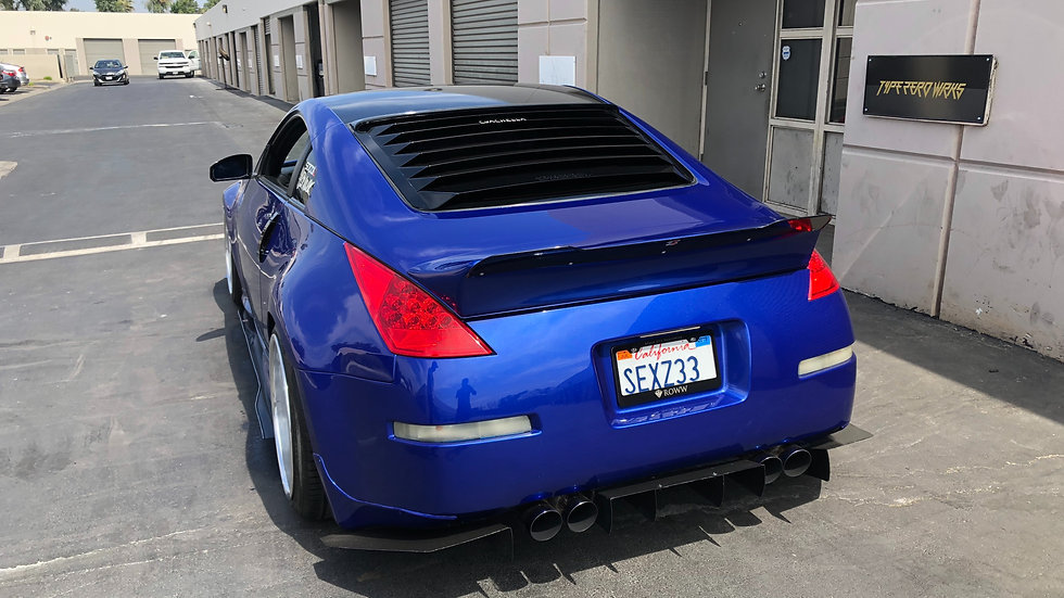 350z rocket bunny wickerbill