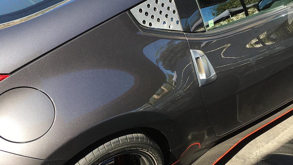 370z rear window cover