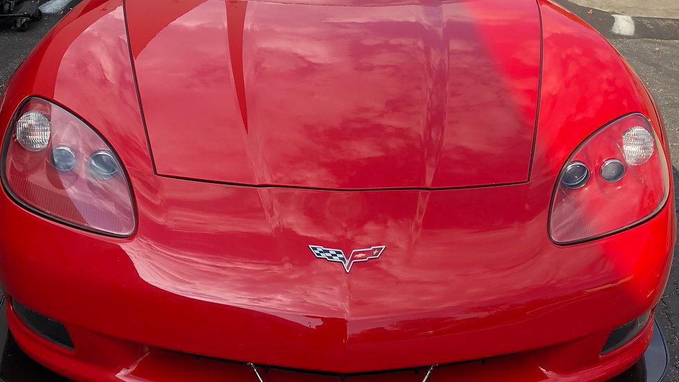 Corvette C6 front splitter