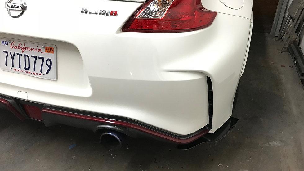 370z Nismo rear spats