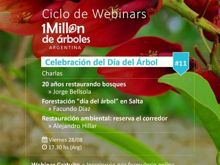 XI Webinar / Celebración del Día del Arbol.