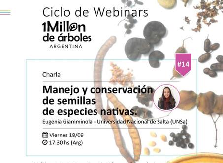 XIV Webinar / Manejo y conservación de semillas de especies nativas.