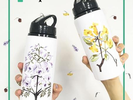 """Colección """"Árboles Nativos de Argentina"""" de Botellas Reutilizables"""