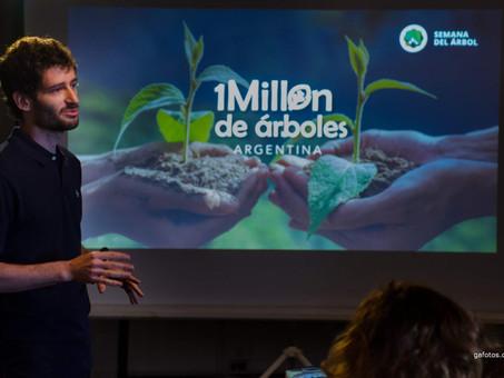 """Se realizó la 1° Jornada de Organización de la Campaña """"Millón de Árboles"""" de Semana del Árbol"""