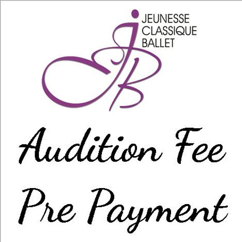 Audition Fee STEP 2