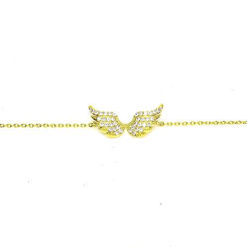 Gold Wings Bracelet