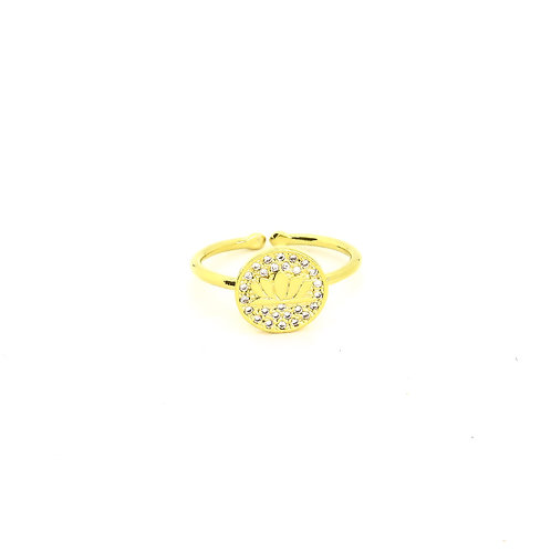 Gold Lotus Ring