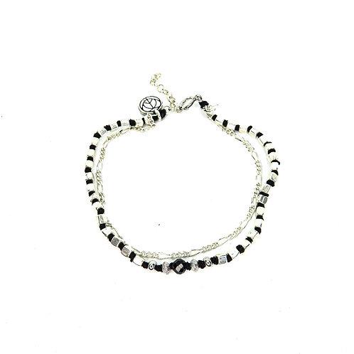 Silver Strength Bracelet