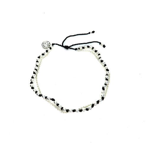 Silver Courage Bracelet
