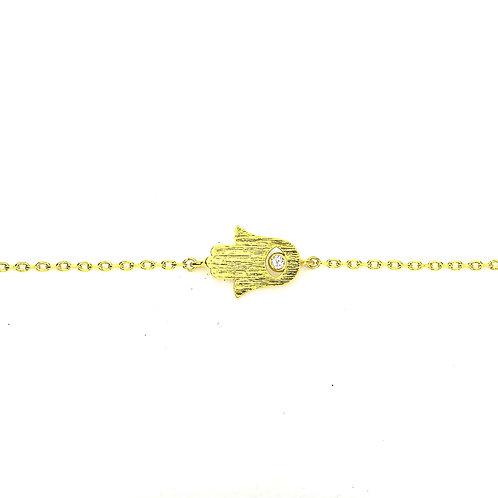 Gold Hamsa Bracelet