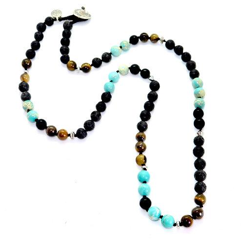 Lava Wrap Necklace