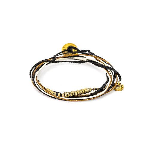 WrapMe Black Mystery Bracelet
