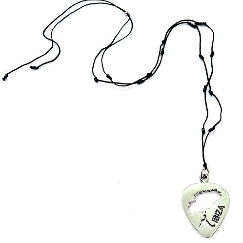 Ibiza Music Silver Pendant