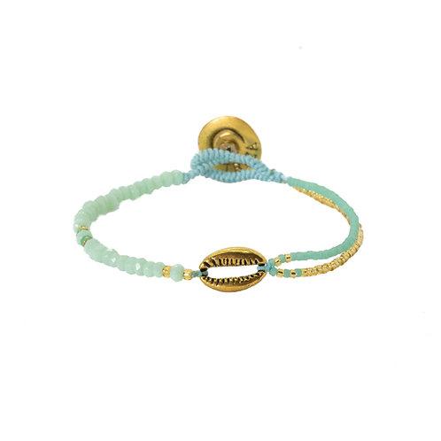 Crystal Shell Bracelet