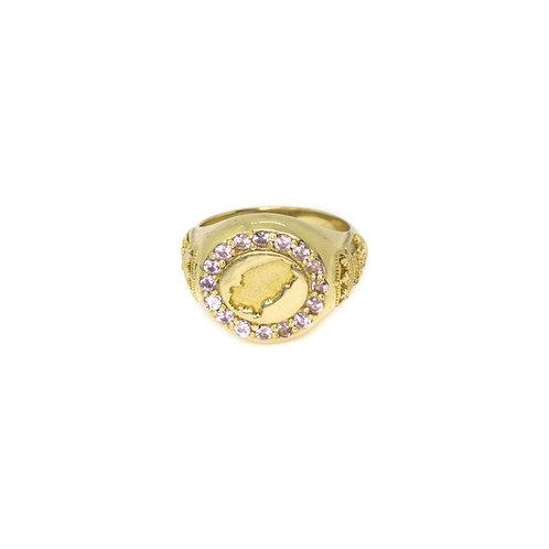 Lilac Ibiza Magic Gold Ring