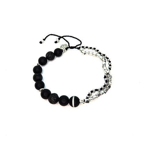 Onyx Strength Bracelet