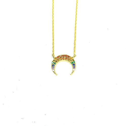 Gold Lunar Necklace