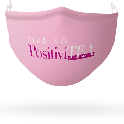 Sipping PositiviTEA Mask
