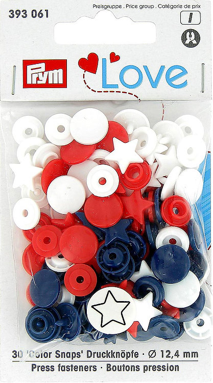 Boutons pression assortiment