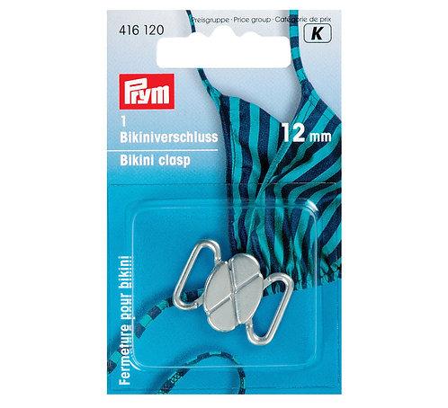 Fermoir bikini métal 12mm