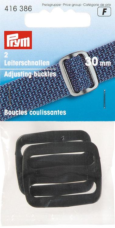 Boucles coulissantes 30mm