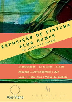 Inauguração da Exposição de Pintura