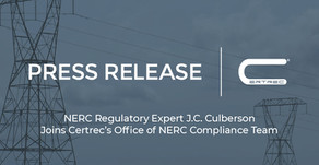 NERC Regulatory Expert J.C. Culberson Joins Certrec's Office of NERC Compliance Team