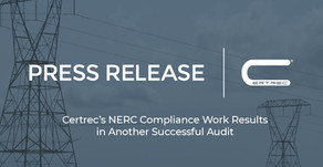 Certrec's NERC Compliance Work Results in Another Successful Audit