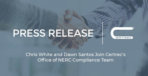 Chris White and Dawn Santos Join Certrec's Office of NERC Compliance Team