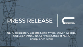 Trio of NERC Compliance Experts Join Certrec's Office of NERC Compliance Team