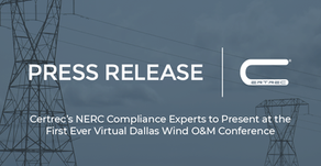 Certrec's NERC Compliance Experts to Present at the First Ever Virtual Dallas Wind O&M Conference
