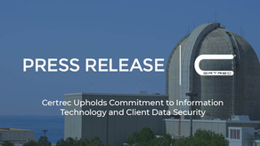 Certrec Upholds Commitment to Information Technology and Client Data Security